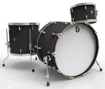 BRITISH DRUM CO. Legend Club 20 3-piece drum set, cold-pressed birch 6 mm shells, Kensington Knight finish
