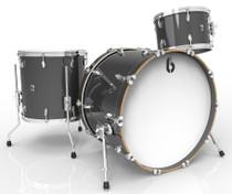 BRITISH DRUM CO. Legend Club 22 3-piece drum set, cold-pressed birch 6 mm shells, Night Skye finish