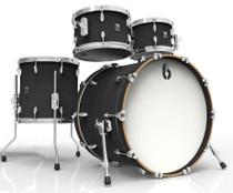 BRITISH DRUM CO. Legend Fusion 22 4-piece drum set, cold-pressed birch 6 mm shells, Kensington Knight finish