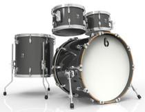 BRITISH DRUM CO. Legend Fusion 22 4-piece drum set, cold-pressed birch 6 mm shells, Night Skye finish