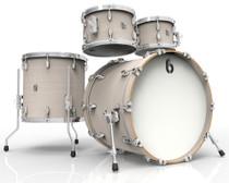 BRITISH DRUM CO. Legend Fusion 22 4-piece drum set, cold-pressed birch 6 mm shells, Whitechapel finish