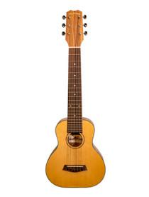 ISLANDER Baritone ukulele-size 6 string guitar guitarlele with solid spruce top