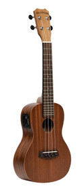 ISLANDER Electro-acoustic traditional concert ukulele with mahogany top