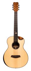 ISLANDER Mini-guitar with solid sitka spruce top, acacia