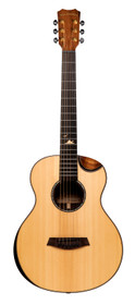 ISLANDER Mini-guitar with solid sitka spruce top, mahogany