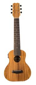 ISLANDER Tenor ukulele-size 6 string guitar guitarlelewith active pickup