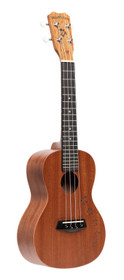 ISLANDER Traditional concert ukulele with mahogany top and Honu turtle engraving