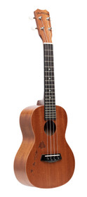 ISLANDER Traditional concert ukulele with mahogany top with Hawaiian islands engraving