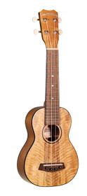 ISLANDER Traditional soprano ukulele with mango wood top