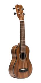 ISLANDER Traditional soprano ukulele with solid acacia top