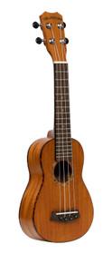 ISLANDER Traditional soprano ukulele with solid mahogany top