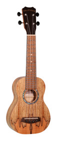 ISLANDER Traditional soprano ukulele with spalted maple top