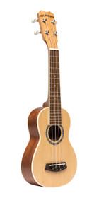 ISLANDER Traditional soprano ukulele with spruce top