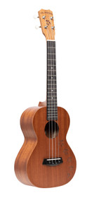 ISLANDER Traditional tenor ukulele with mahogany top and Honu turtle engraving