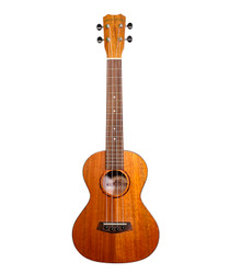 ISLANDER Traditional tenor ukulele with Mahogany top, Tortoise Rosette & Binding