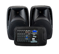 LANEY AH2500D Compact portable PA system