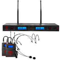 NADY Nady 2W-1KU HM-10 Dual True Diversity 1000-Channel Professional UHF Wireless System