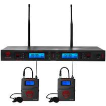 NADY Nady 2W-1KU LT Dual True Diversity 1000-Channel Professional UHF Wireless System