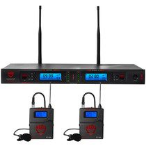 NADY Nady 2W-1KU LT Dual True Diversity 1000-Channel Professional UHF Wireless System