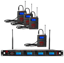 NADY Nady 4W-1KU GT Quad True Diversity 1000-Channel Professional UHF Wireless System