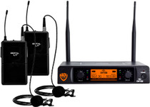 NADY Nady DW-22 Dual Digital Wireless Lapel Microphone System