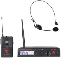 NADY Nady U-1100 HM 100-Channel UHF Wireless Headset Microphone System
