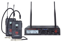 NADY Nady U-2100 Dual GT 200-Channel UHF Wireless Instrument/Guitar System