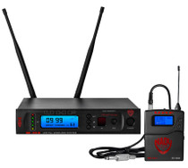 NADY Nady W-1KU GT True Diversity 1000-Channel Professional Guitar/Instrument Microphone Wireless System