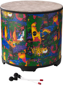 "REMO 21""x22"" Kids Gathering Drum RainForest"