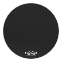 "REMO 28"" Powermax Ebony Marching Bass Drumhead"