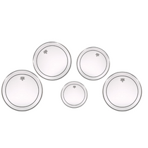 """REMO Pro pack (6"""", 10"""", 13"""" and 14"""" marching Pinstripe clear and free 12"""")"""