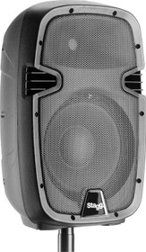 "STAGG 10"" 2-way active speaker, analog, class A/B, with Bluetooth and reverb, 170 watts peak power"