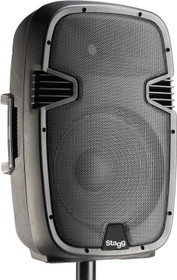 "STAGG 12"" 2-way active speaker, analog, class B, bi-amplification, 270 watts peak power (240 + 30)"