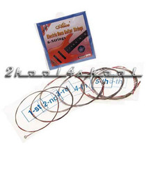 6 string electric bass strings round wound six medium