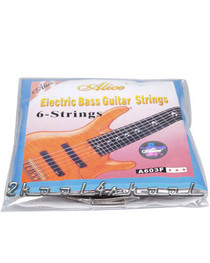 10 sets of 6-String Bass Guitar Strings Medium Gauge