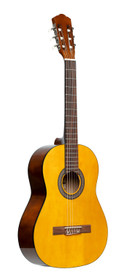STAGG 3/4 classical guitar with linden top, natural colour