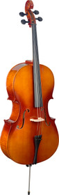STAGG 4/4 laminated maple cello with bag