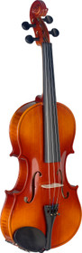 STAGG 4/4 Maple Violin with standard-shaped soft-case