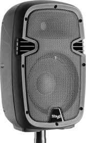 "STAGG 8"" 2-way active speaker, analog, class A/B, with Bluetooth and reverb, 170 watts peak power"