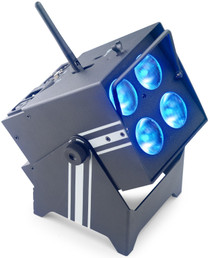 STAGG Battery-powered PAR can 4 x 8-watt (6 in 1) LED with wireless DMX