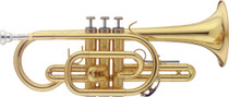 STAGG Bb Cornet, in ABS case