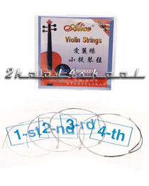 Violin STRINGS steel wound ball end MEDIUM fiddle EADG
