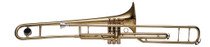 STAGG Bb Valve Trombone, 3 pistons, w/ABS case