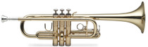 STAGG C Trumpet, w/ABS case