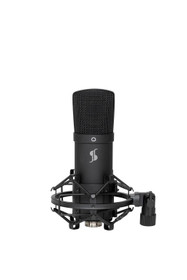 STAGG Cardioid USB microphone set with microphone, stand, shock mount, pop filter and USB cable