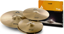 STAGG Copper-steel alloy Innovation cymbal set