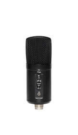 STAGG Double condenser USB microphone, metal finish