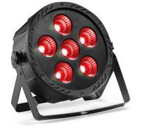STAGG Flat ECOPAR 6 spotlight with 6 x 30-watt RGB (3 in 1) LED