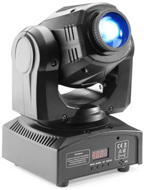 STAGG Gobo moving head with 30-watt COB LED, 7 colours, 7 gobos
