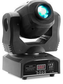 STAGG Gobo moving head with 60-watt COB LED, 7 colours, 7 gobos